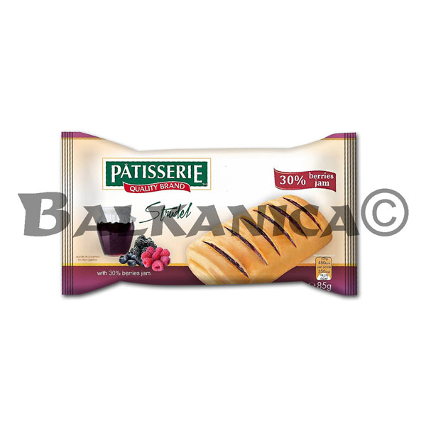 85 G STRUDEL WITH FOREST FRUITS PATISSERIE DERPAN