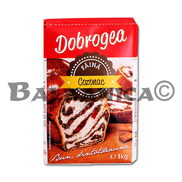 1 KG FLOUR 000 FOR EASTER BREAD (COZONAC) DOBROGEA