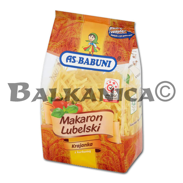 400 GR TALLARINES LUBELSKI AS BABUNI