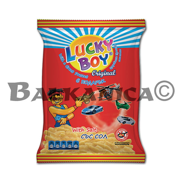 40 GR GUSANITOS MAIZ LUCKY BOY