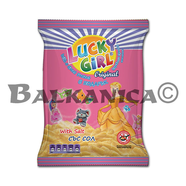 40 GR GUSANITOS MAIZ LUCKY GIRL