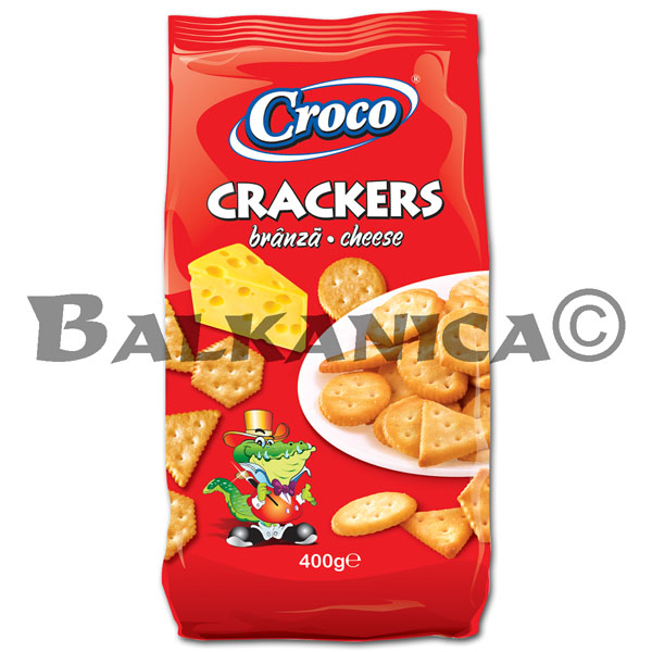 400 G CRACKERS CHEESE CROCO