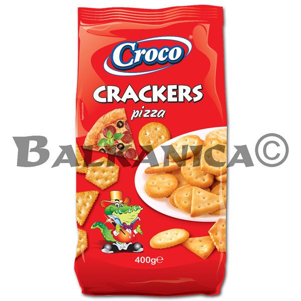 400 G GALLETAS PIZZA CROCO