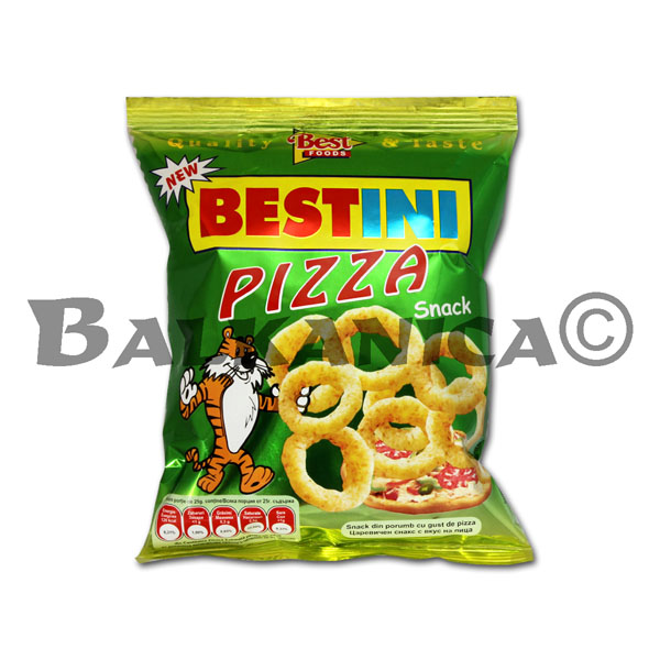 25 G SNACKS PIZZA BESTINI