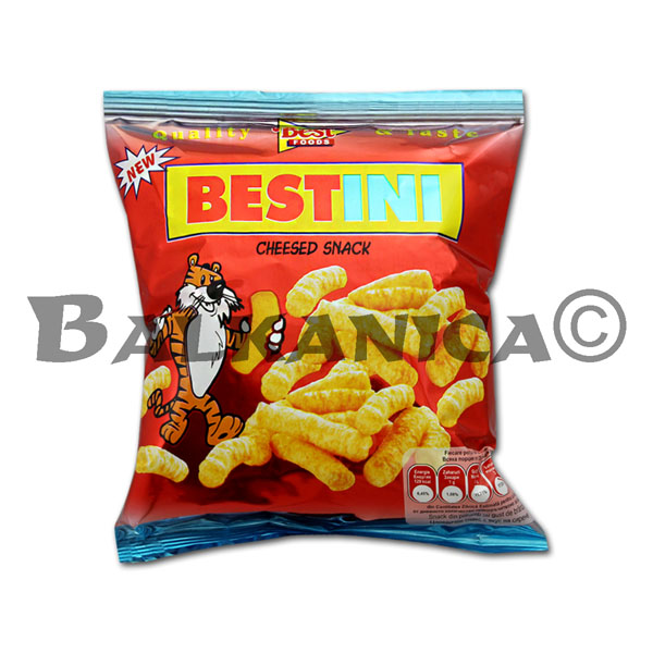 25 G SNACKS QUESO BESTINI