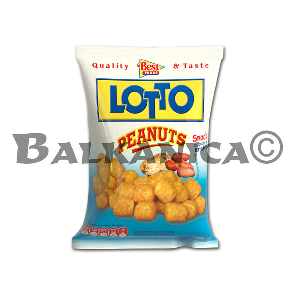 35 GR SNACKS CACAHUETES LOTTO