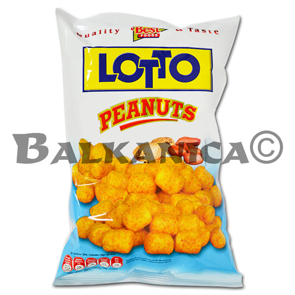 90 GR SNACKS CACAHUETES LOTTO