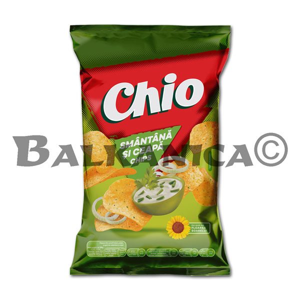 65 GR CHIPS SMANTANA SI CEAPA CHIO