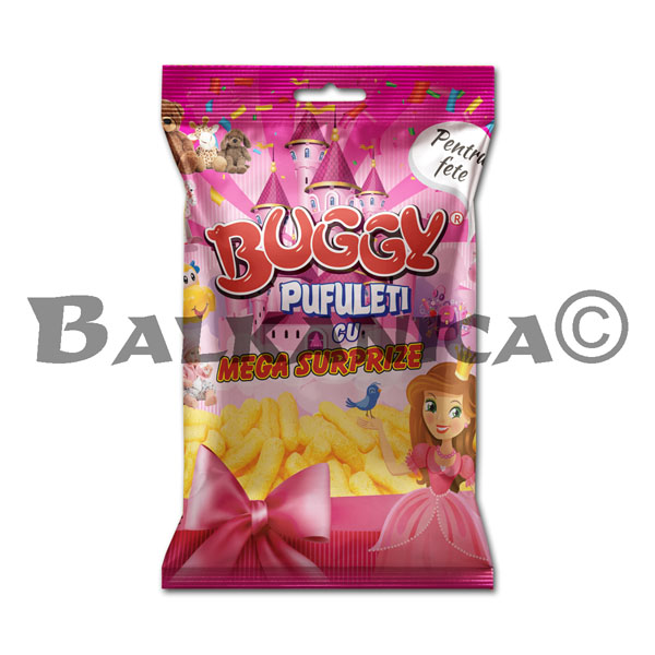 50 GR CORN STICKS MEGA SURPRISE GIRLS BUGGY