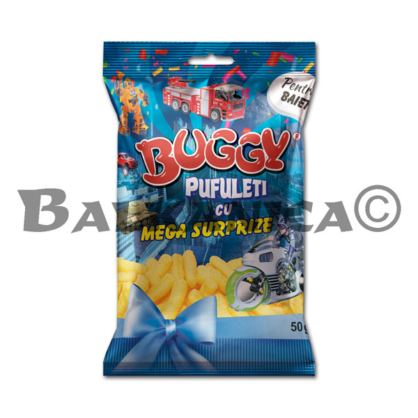 50 GR CORN STICKS MEGA SURPRISE BOYS BUGGY