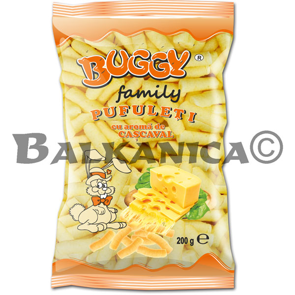 200 GR CORN STICKS LAVORED YELLOW CHEESE FAMILY GUSTO