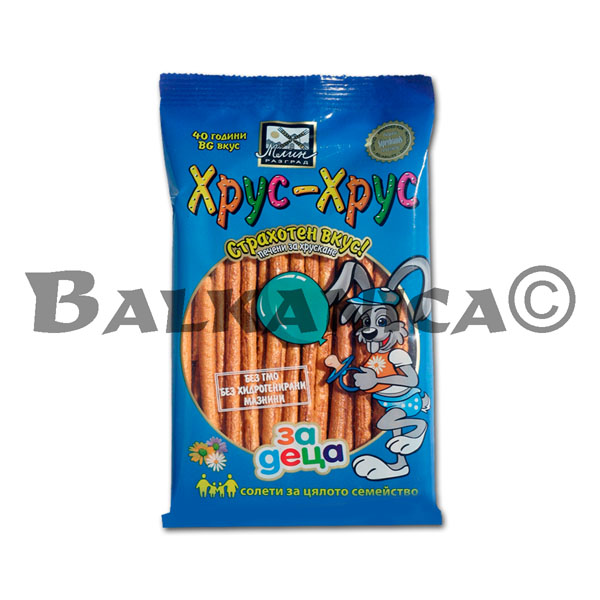 60 GR PRETZEL STICKS HRUS HRUS FOR CHILDREN RAZGRAD