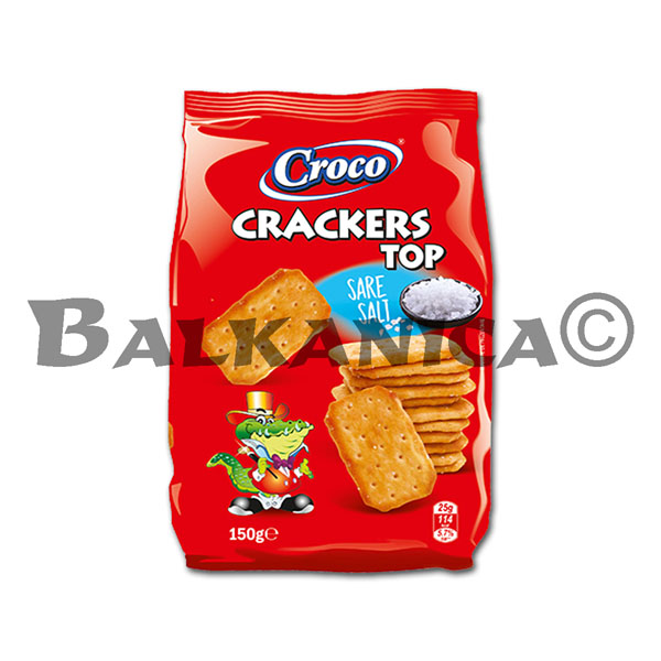 150 G GALLETAS SAL TOP CROCO