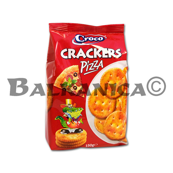 150 G GALLETAS PIZZA TOP CROCO