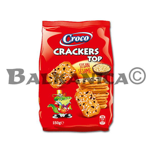 150 G GALLETAS CON SESAMO TOP CROCO