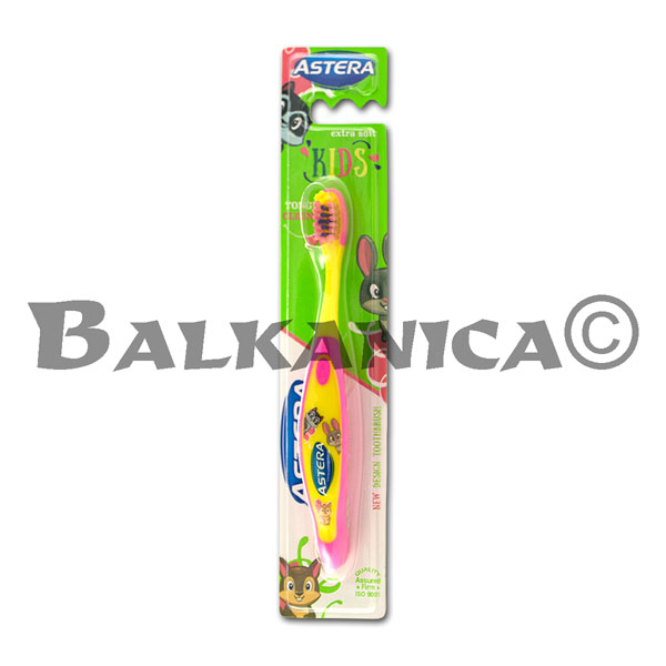 TOOTHBRUSH EXTRA SOFT ASTERA KIDS