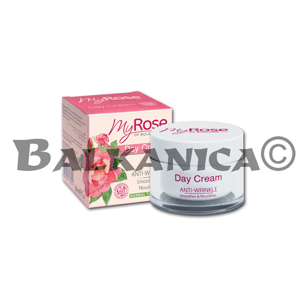 50 ML CREMA ANTIARRUGAS DE DIA MY ROSE OF BULGARIA