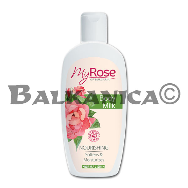 250 ML LECHE CORPORAL MY ROSE OF BULGARIA