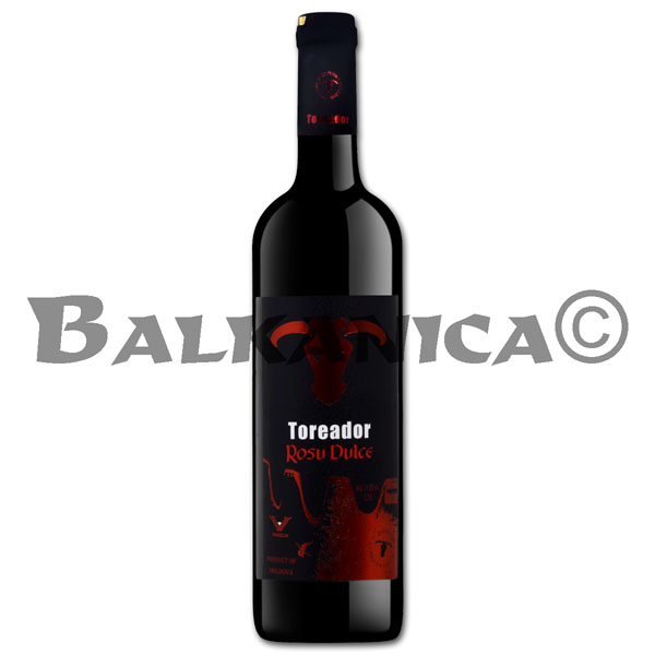 0.75 L WINE RED SWEET TOREADOR