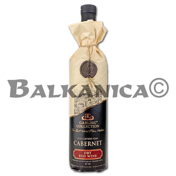 0.75 L VINO TINTO SECO CABERNET RESERVA GARLING COLLECTION