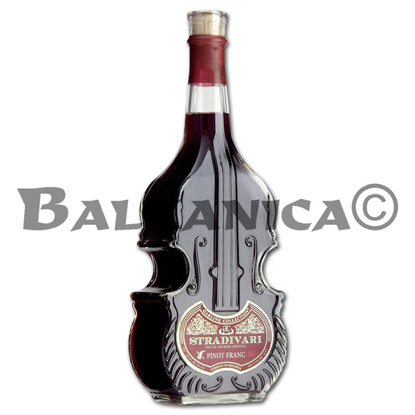 0.75 L VINO TINTO SEMISECO PINOT FRANC VIOLIN STRADIVARI GARLING COLLECTION