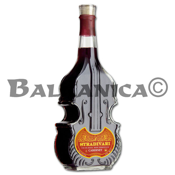0.75 L VINO TINTO SEMIDULCE CABERNET VIOLIN STRADIVARI GARLING COLLECTION