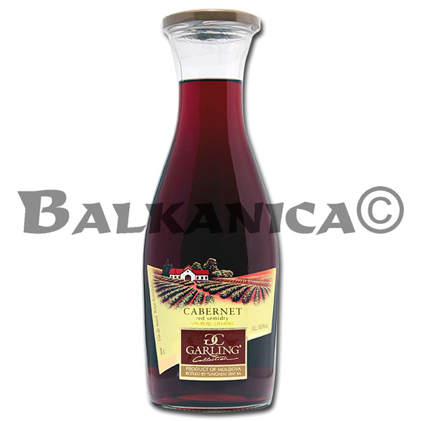 1 L VINO TINTO SEMISECO CABERNET GARLING COLLECTION