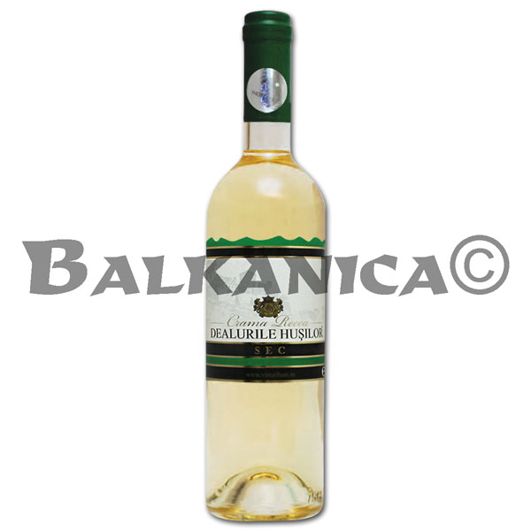 0.75 L WINE WHITE DRY DEALURILE HUSILOR