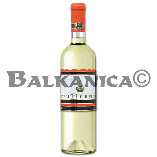 0.75 L WINE WHITE SEMIDRY DEALURILE HUSILOR