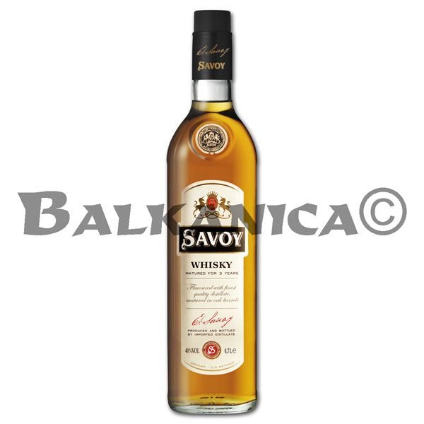 0.7 L WHISKY SAVOY GOLD 40%