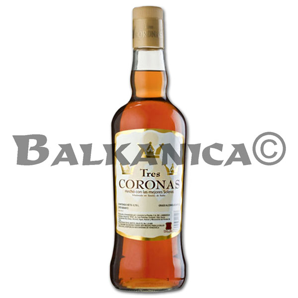 0.7 L WHISKY OLD CROWNS TRES CORONAS 40%