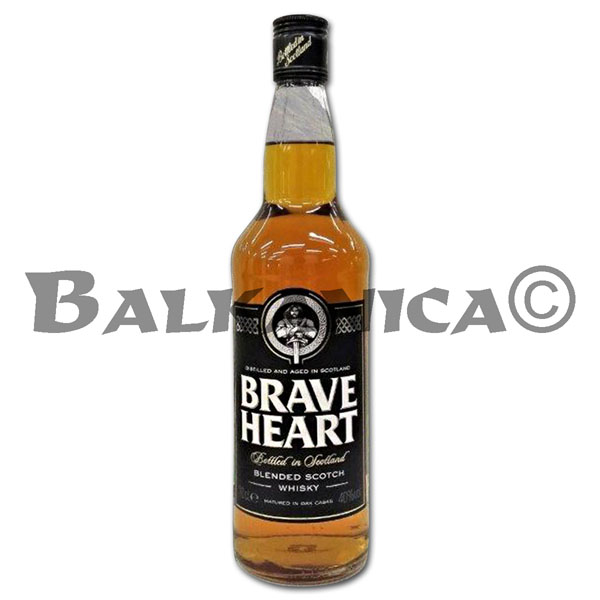 0.7 L WHISKY SCOTCH BRAVE HEART 40%