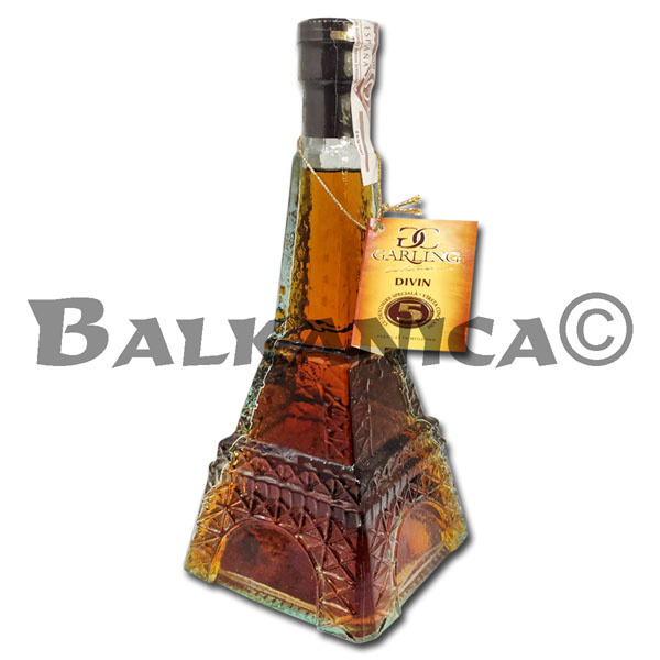 0.5 L BRANDY TORRE EIFFEL DIVIN GARLING COLLECTION 40%