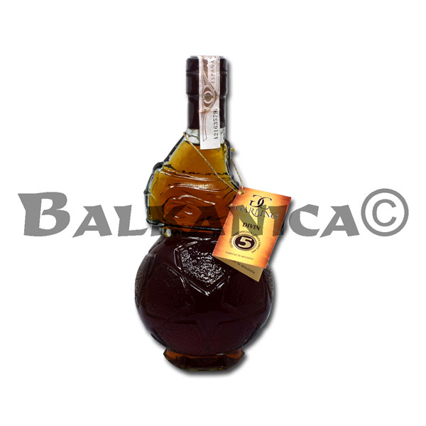 0.35 L BRANDY PELOTA DIVIN GARLING COLLECTION 40%