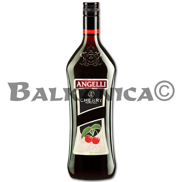 1 L LICOR DE CEREZA ANGELLI 14%