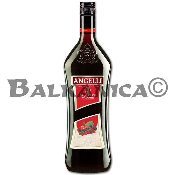 1 L LICOR DE FRUTAS DEL BOSQUE ANGELLI 14%
