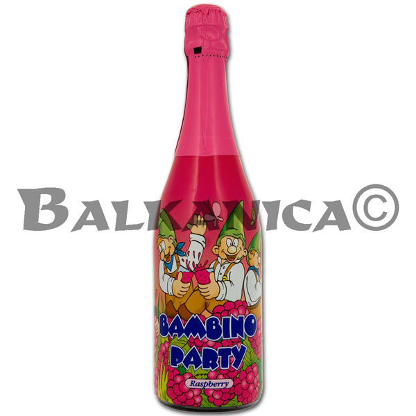 0.75 L BAMBINO PARTY FRAMBUESA ANGELLI 0%