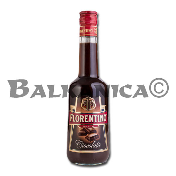 0.5 L LICOR CHOCOLATE FLORENTINO 13%