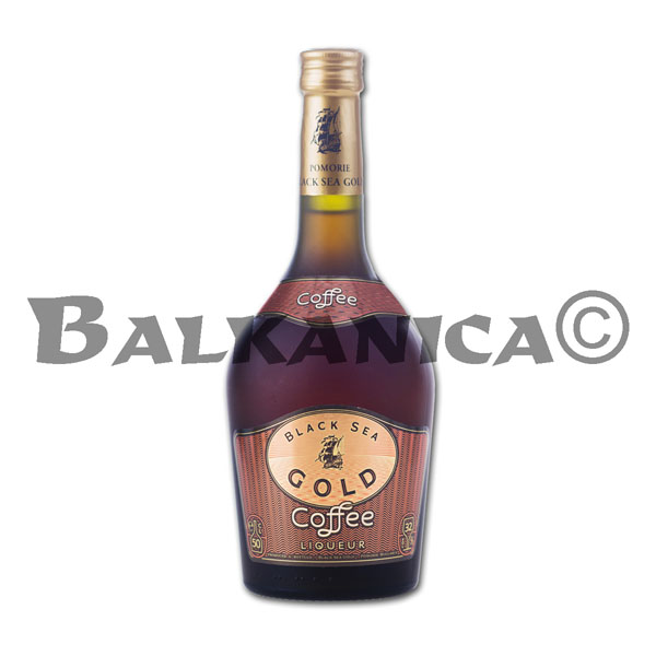 0.5 L LIQUEUR COFFEE BLACK SEA GOLD 32%