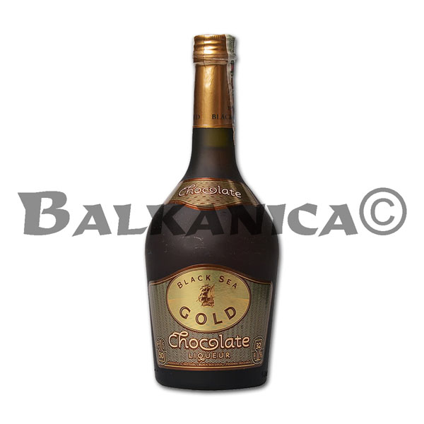 0.5 L LIQUEUR CHOCOLATE BLACK SEA GOLD 32%