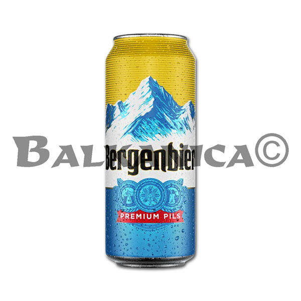 0.5 L BEER CAN BERGENBIER