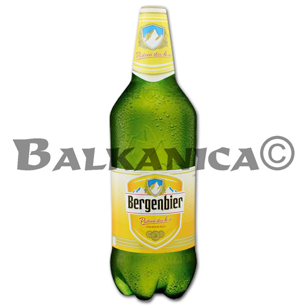 2.5 L BEER PET BERGENBIER