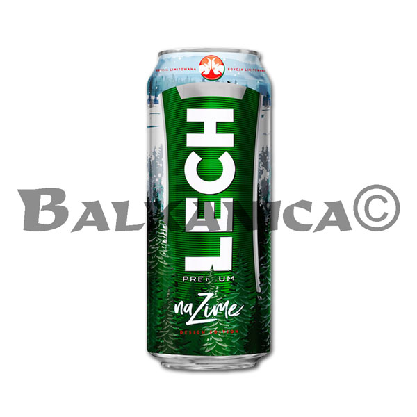 0.5 L BEER CAN PREMIUM LECH 5%