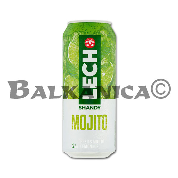 0.5 L BEER CAN ICE MOJITO LECH 2%