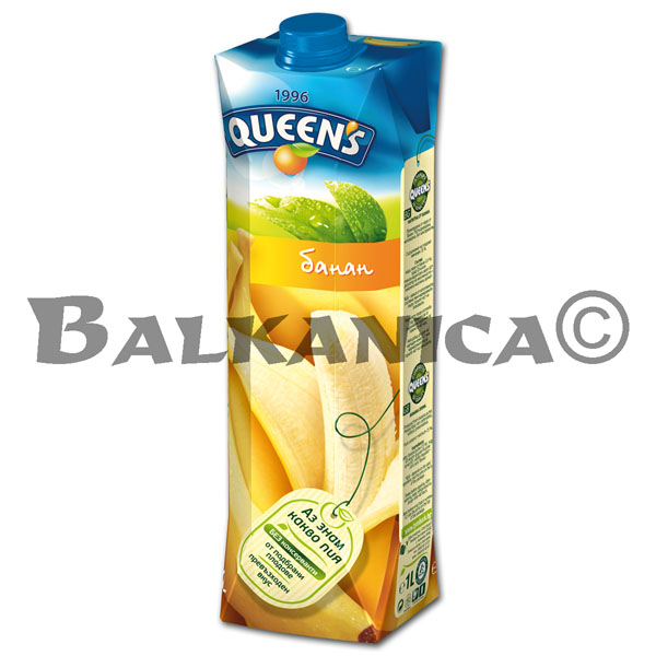 1 L ZUMO NATURAL PLATANO QUEEN'S