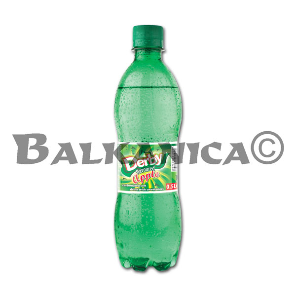 0.5 L REFRESCO MANZANA DERBY