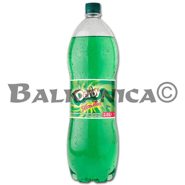 2 L REFRESCO MANZANA DERBY
