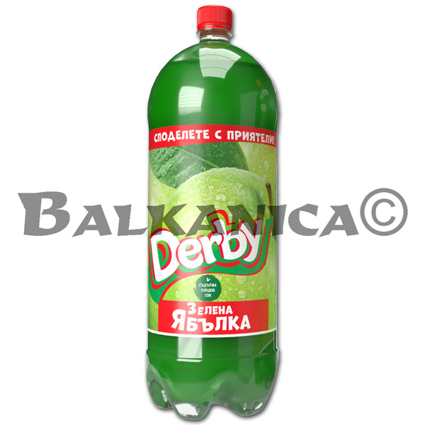3 L REFRESCO MANZANA DERBY