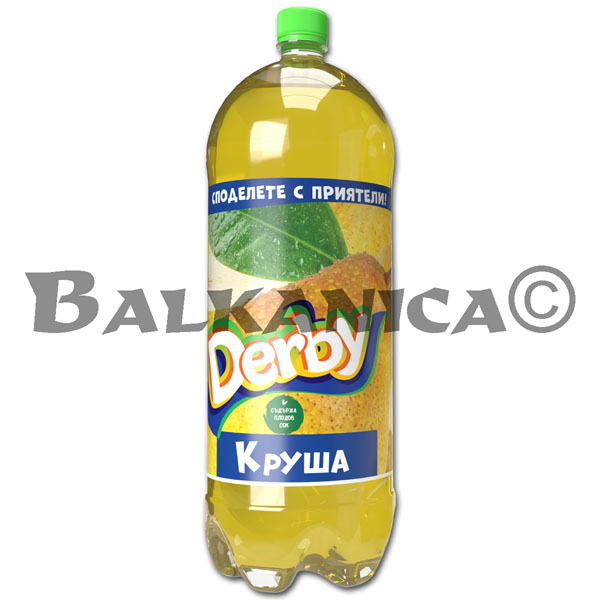 3 L REFRESCO PERA DERBY