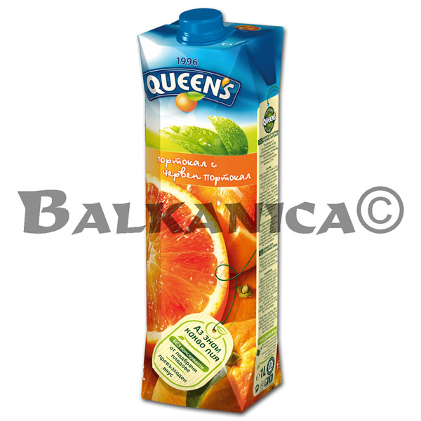1 L ZUMO NATURAL NARANJA ROJA QUEEN'S